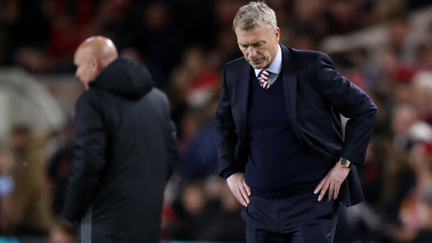Moyes retains survival hope
