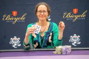 Nancy Matson Claims First Gold Ring at WSOP Circuit Bicycle Casin...