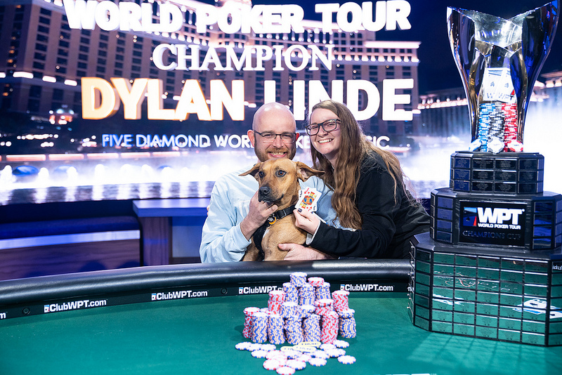 Dylan Linde Crowned the Latest WPT Five Diamond Champion