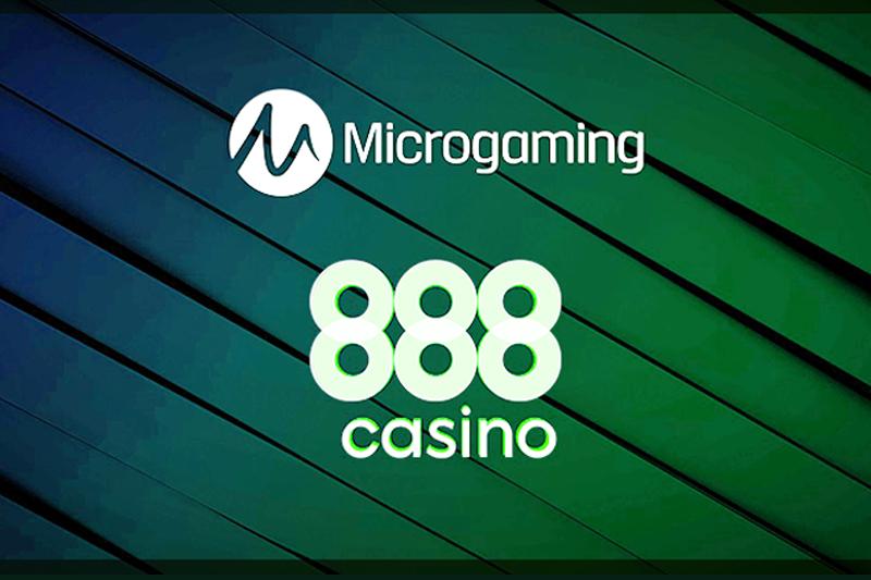 Microgaming Slots Now Live with 888casino