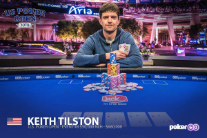 Keith Tilston Wins US Poker Open $50,000 Main Event