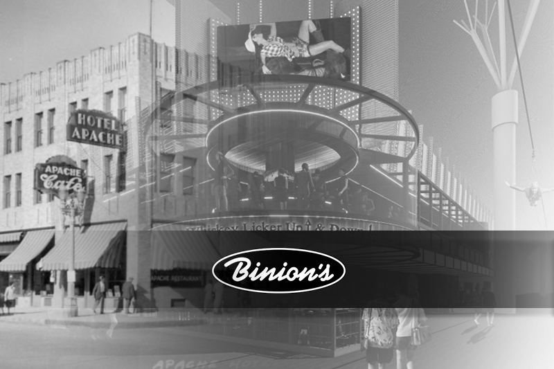 Binion's Announces Expansion, Reopens Legendary Apache Hotel