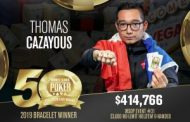 Thomas Cazayous Wins WSOP $3,000 No-Limit Hold'em 6-Handed...