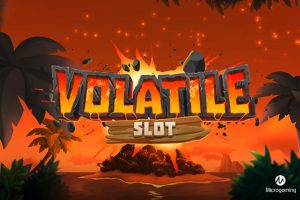 Microgaming Offers Volcanic Slot Experience with Volatile Slot...