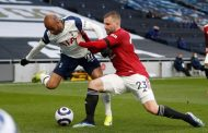 Man United Get 3-1 Win Over Tottenham with Goals from Fred, Cavan...