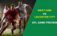 West Ham United vs. Leicester City: EPL Game Preview...