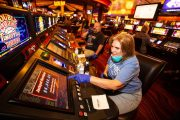 We're back! Las Vegas casinos shuttered by virus reopen...