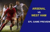Arsenal vs West Ham United: EPL Game Preview...
